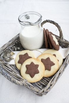 chocolate stars cookies ♥