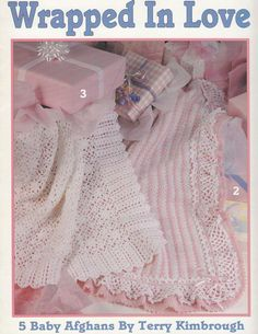 Baby Afghan Crochet Patterns  Wrapped in Love  5 by PaperButtercup, $5.95