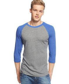 Alternative Apparel Colorblocked Baseball T-Shirt Alternative Apparel, Alternative Outfits, Tshirts Online, Baseball, Sleeves, T Shirt, Shopping, Tops, Products