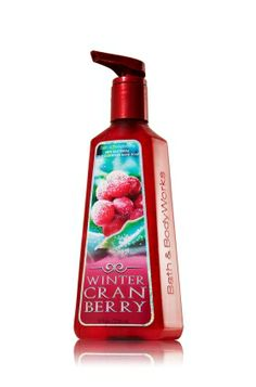 Winter Cranberry Deep Cleansing Hand Soap - Anti-Bacterial - Bath & Body Works