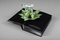 This London Bar's Cocktail Menu Is A Gorgeous Pop-Up Book | Co.Design | business + design #creative #design #craft