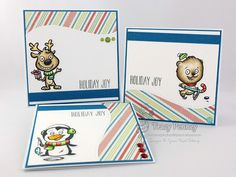 Your Next Stamp:   Holiday Buddies stamp and die sets #yournextstamp