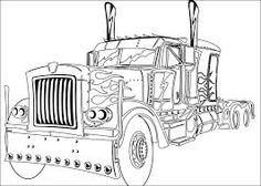 transformers optimus prime semi truck coloring page 782548 jpg