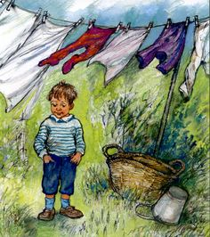 Alfie Outdoors, written and illustrated by Shirley Hughes