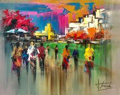 Josep Teixido, Une promenade au quai