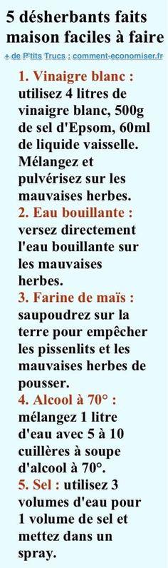 5+Désherbants+Faits+Maison+Que+Toutes+les+Mauvaises+Herbes+DÉTESTENT.