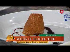 Receta dulce: Volcanes de dulce de leche Ariel Rodriguez Palacios, Chocolates, Baked Potato, Baking, Ethnic Recipes, Dessert, Food, Youtube, Whipped Cream
