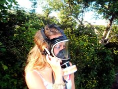 Gas Mask Girl, Gas Masks, Respirator Mask, Cute Girls, Punk, Female, Photography, Style, Mascaras