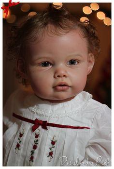 Reborn Prototype Toddler Doll Ella Mae Baby Girl Jannie de Lange | eBay