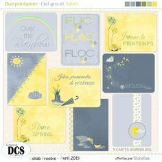 FREE Le blog du forum DCS: les petites cartes de printemps by BABELINE
