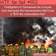 WTF Facts : This does happen. When I was working at Allstate we had this happen. Let it burn to the ground.