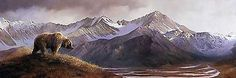 Above the Glacier - Bonnie Marris - World-Wide-Art.com - $235.00