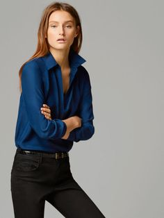 94f43b985ddb37 View all - Shirts   Blouses - COLLECTION - WOMEN - Massimo Dutti - Slovenia