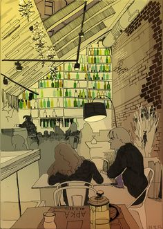 Арка Bar & Grill by bogema, via Flickr  EKATERINA KHOZATSKAYA
