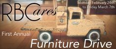 Furnish Green is having a furniture drive with Rhythm Break Cares! We will be collecting donated pieces starting February 24th. It's for a great cause so check out our blog for more information!  http://furnishgreen.com/furnish-greens-furniture-drive-for-a-cause/