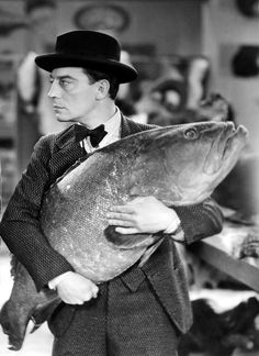 Hungry Buster Keaton. Very hungry….