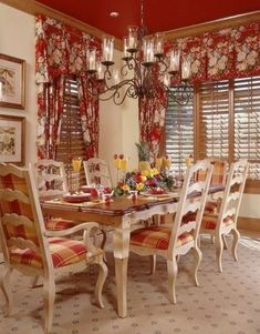 Stunning Fancy French Country Dining Room Decor Ideas 23