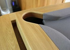 UK Designer Billiards Table, Pocket Detail, Steam Bent wood covering leather pocket backing Dining Room Pool Table, Diy Pool Table, Dining Table With Storage, Dining Table Design, Basement Bar Designs, Home Bar Designs, Basement Ideas, Bent Wood, Wood Design