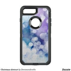 Christmas abstract OtterBox defender iPhone 7 plus case