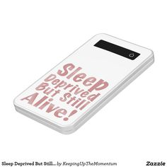 Sleep Deprived But Still Alive in Dusty Rose Power Bank