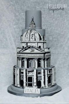 St.+Peter's+Basilica+-+Cake+by+La+Belle+Aurore