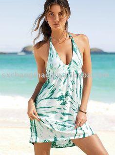 Algodón de moda falda de la playa, señoras vestido de playa-Traje de baño  ropa de playa-Identificación del producto:374077408-spanish.alibaba.com