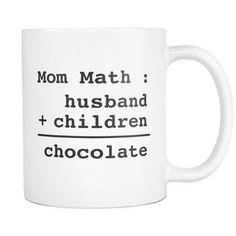 Mom Math Mug - Funny Gift for Mother