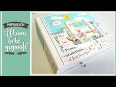 Album Scrapbook, Baby Scrapbook, Baby Album, Bujo, Cardmaking, Nova, Youtube, Paper, Scrabble