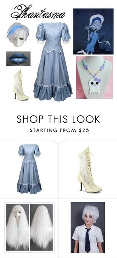 """Scooby Doo and the Ghoul School: Phantasma"" by mangerlecole ❤ liked on Polyvore"