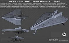 Acclamator-Class Assault ship ortho [New] by unusualsuspex on DeviantArt
