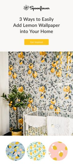 Nursery Wallpaper, Wallpaper Decor, Wallpaper Backsplash Kitchen, Orange Color Palettes, Virginia Homes, Room Inspiration, Design Inspiration, Wall Treatments, Beautiful Interiors