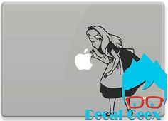 Alice in Wonderland  Curious  for MacbookiPad Tablets by DecalGeex, $8.99