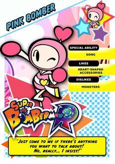 Super Bomberman R Pink Bomber