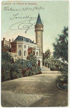 Chalet de Ripalda, Valencia. 1905