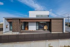CASE671 実りの平屋 Prefab, Bungalow, Tiny House, Facade, Entrance, Architecture Design, House Design, Mansions, House Styles