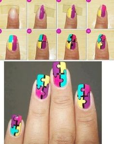 Nailart unhas b e a u t y b e l e z a pinterest 18 easy phase by step summer nail artwork tutorials for newbies learners 2015 prinsesfo Image collections