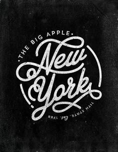 New York Art Print New York by Andrew Footit