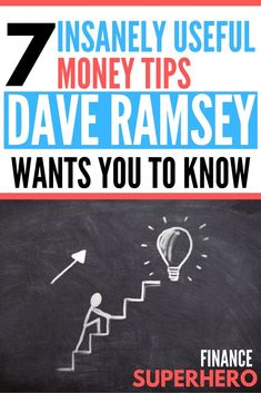Dave Ramsey is the king of personal finance advice, and the 7 Baby Steps are his genius money plan that has helped millions of people. If your budget needs a tune up or you're not sure what to do with your money, you need to read this! Money Plan, Money Tips, Money Saving Tips, Money Hacks, Dave Ramsey, Budget Planer, Stress, Become A Millionaire, Saving For Retirement