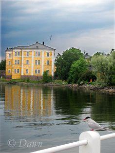 Fortress island of #Suomenlinna off the coast of #Helsinki, #Finland