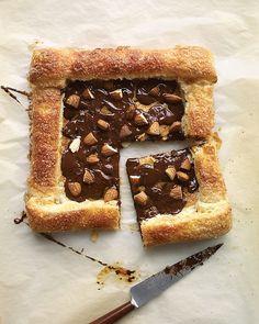 Chocolate-Almond Pastries Recipe