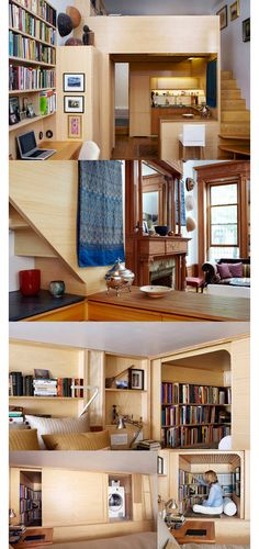 Tiny houses : New York Loft Apartment