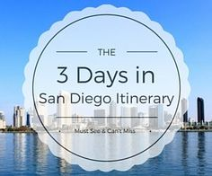 This popular San Diego itinerary includes the best things to do during your 3 days in San Diego. Save on admission & more. Enjoy!