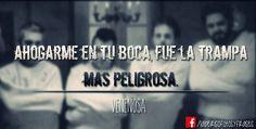 Venenosa - La Beriso Rock And Roll, Musicals, Wattpad, Sea, Amor, Song Quotes, Rage, Rock Bands, Poems