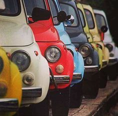 Fiat Cinquecento, Fiat Abarth, Fiat 500, San Rafael, Fiat Cars, Vintage Sports Cars, Jaguar E Type, Love Car, Small Cars