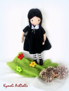 Kymeli OOAK Art Dolls and Dolls . by kymeli Soft Dolls, Christmas Ornaments, Trending Outfits, Holiday Decor, Handmade Gifts, Stuff To Buy, Animals, Etsy, Collection
