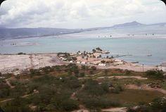 Hikam Airforce Base, Hawaii  © Original 35mm Kodachrome Slide.