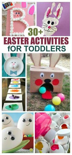 easter crafts for toddlers / easter crafts ; easter crafts for kids ; easter crafts for toddlers ; easter crafts for adults ; easter crafts to sell ; easter crafts for kids toddlers ; easter crafts for kids christian Easter Activities For Toddlers, Holiday Activities, Holiday Crafts, Holiday Fun, Science Toddlers, Spring Crafts, Party Games For Toddlers, Crafts With Toddlers, Spring Toddler Crafts