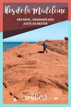 Archipel des îles de la Madeleine Van Camping, Beach, Water, Camper Van, Travel, Outdoor, Islands, Posters, Projects