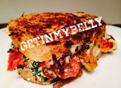 """The """"Get In My Belly"""" grilled cheese sandwich"""