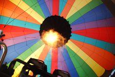 Hot air balloon ride :D